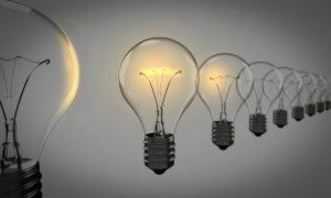 light bulbs, chosen, bulb